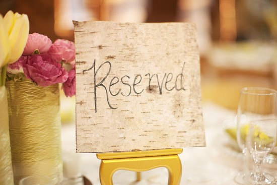 Rustic romance wedding reception decor and flowers