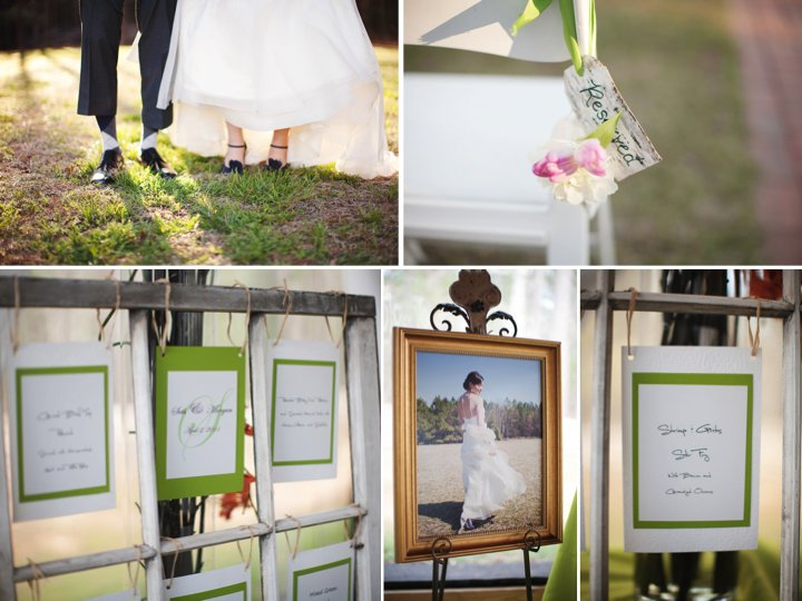 Outdoor Spring wedding with personalized DIY details