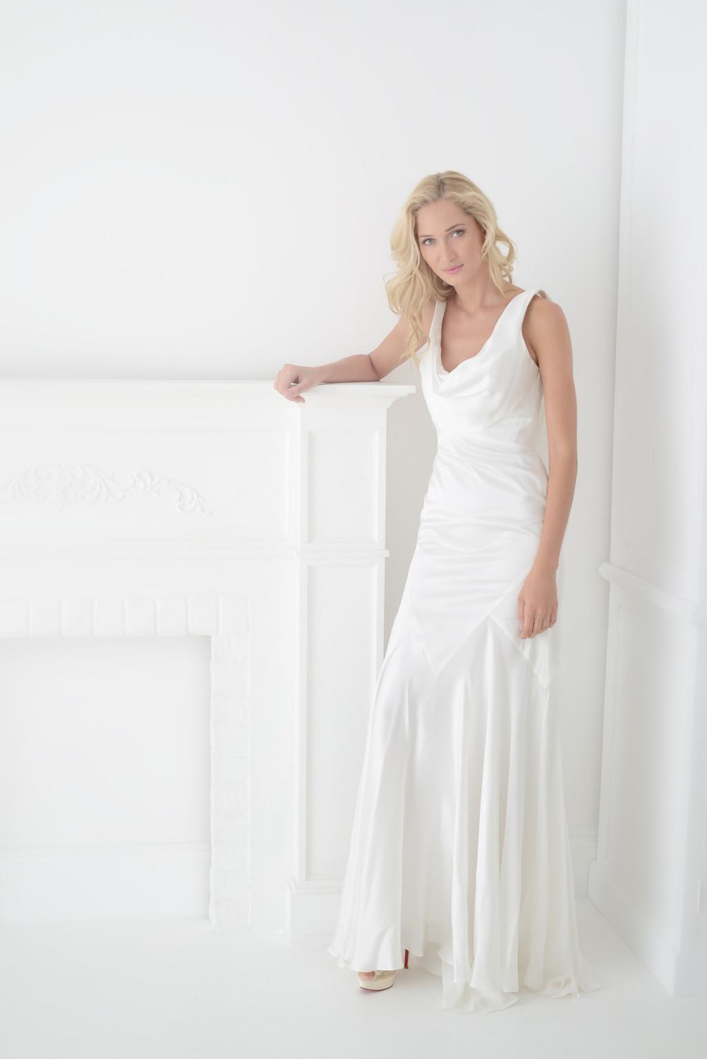 Bias cut wedding dress on onewed ombrellifo Gallery
