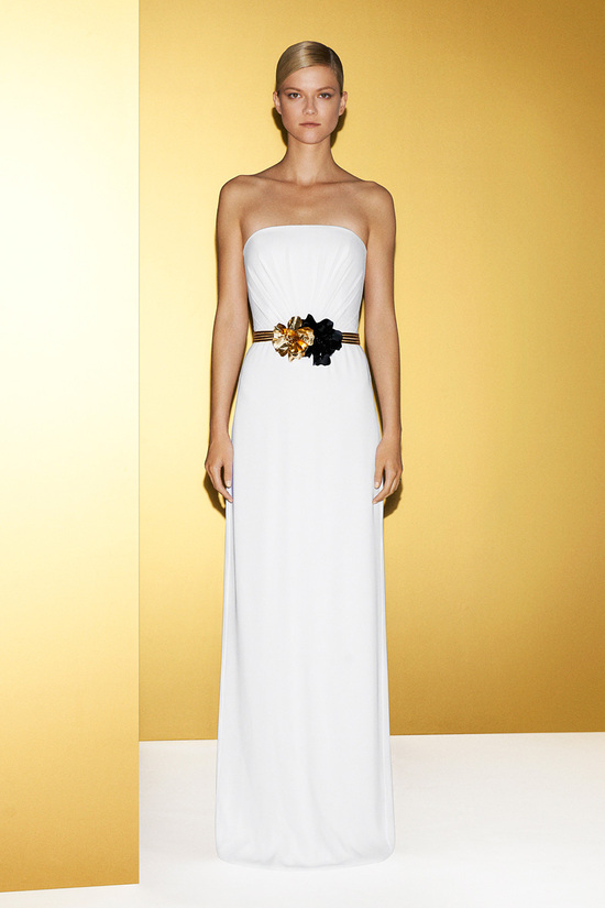 Grecian-inspired Gucci wedding dress