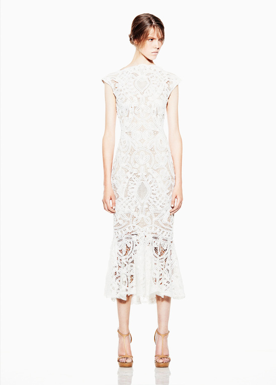 Sarah Burton for Alexander McQueen wedding reception dress