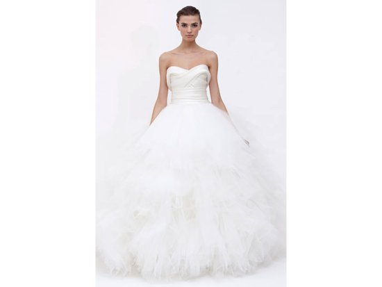 Wedding dress by Marchesa