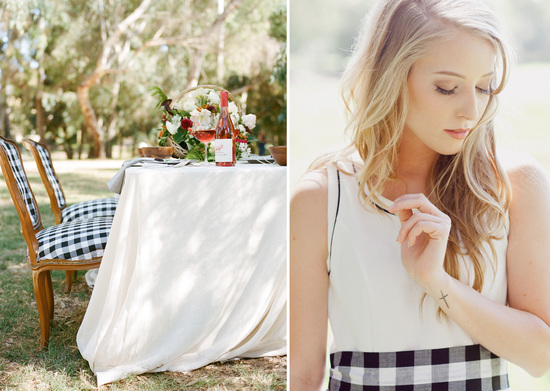 black-white-gingham-wedding
