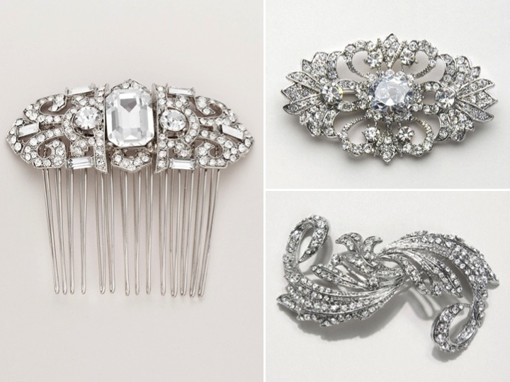 Vintage inspired bridal hair accessories and wedding for Where to buy wedding accessories