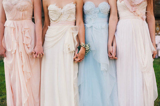 Alice in Wonderland Bridesmaids Dresses