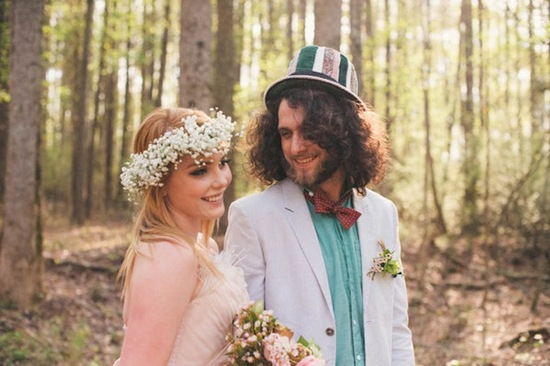 photo of Offbeat Alice in Wonderland Themed Wedding