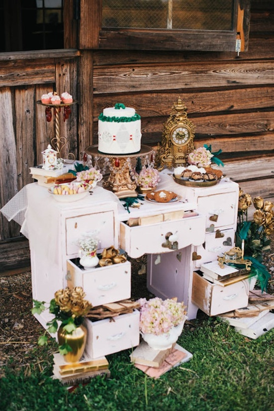 photo of Offbeat Alice in Wonderland Themed Wedding