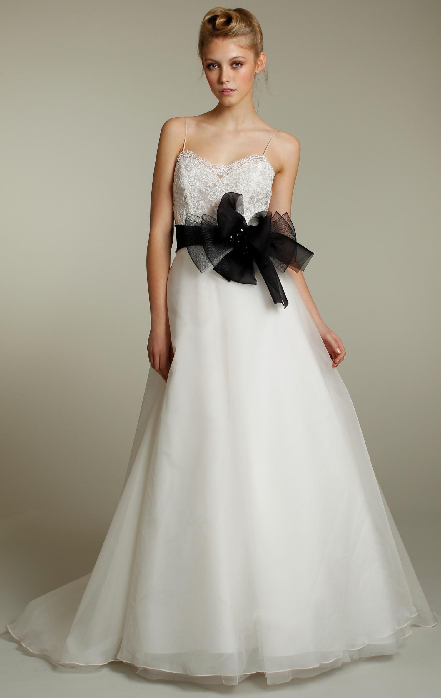 black wedding dress sash | Wedding