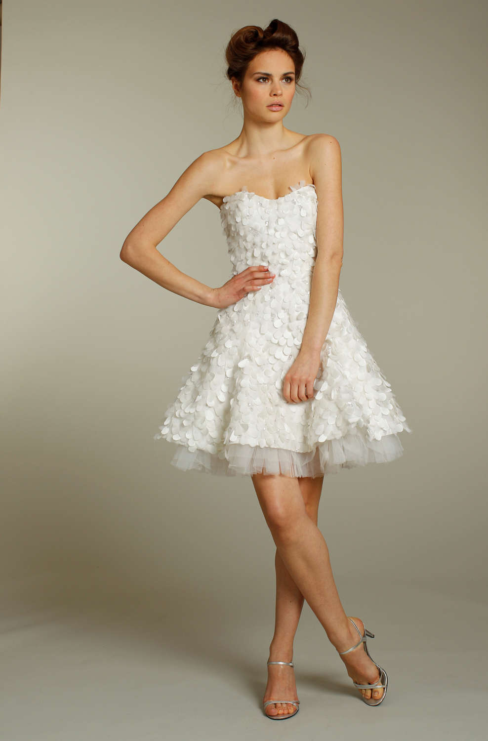 Adorable short embellished wedding reception dress Dresses for wedding reception