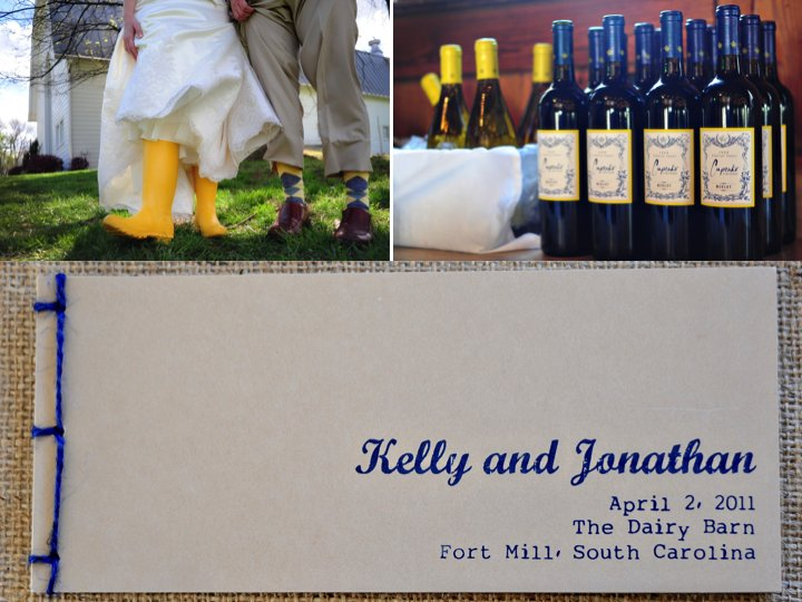 Yellow-navy-blue-wedding-color-palette-personalized-reception-details.full