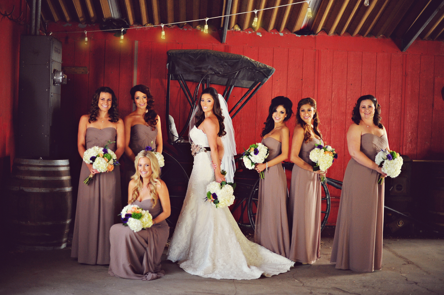 Bridesmaids_posing_in_front_of_antique_buggy.full