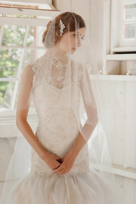 photo of Veiled Incredibly: Liv Hart Bridal 2014