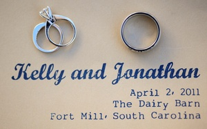 photo of Personalized Navy and Lemon Wedding: Kelly and Jonathan