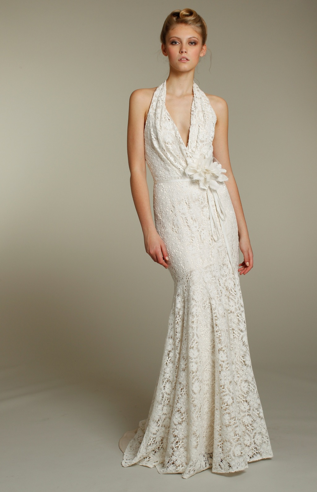 1152-blush-wedding-dress-2011-bridal-gowns-ivory-halter-lace-mermaid-front.full