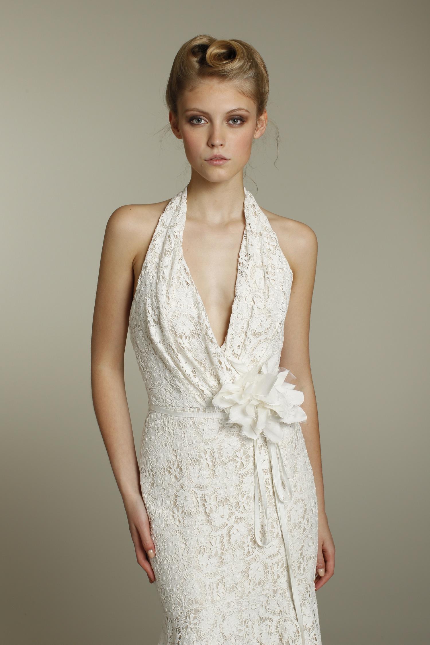halter a line wedding dress halter top wedding dresses Wedding Dress Halter Las Elegant Dresses Strap
