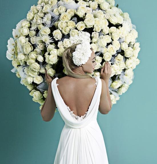 photo of PETRA by Amanda Wyatt wedding dress 2014