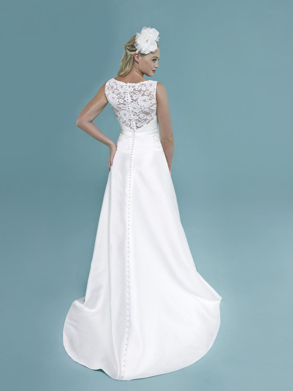 Classic White Wedding Dress