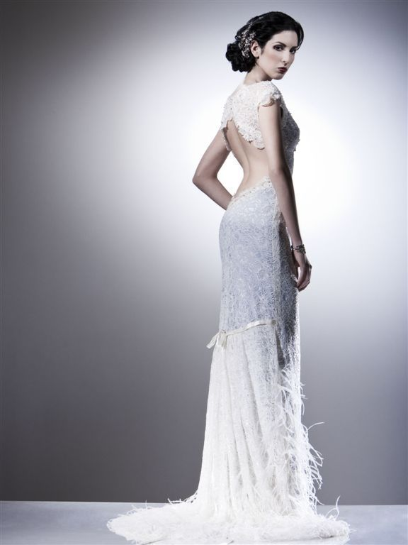 photo of Bridal Designer Amy-Jo Tatum Dishes on Sarah Houston Couture!