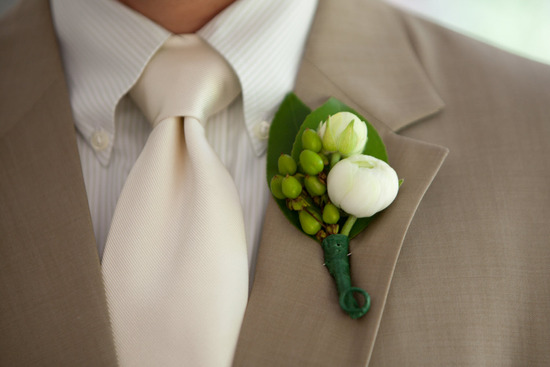 photo of Outdoor Garden Wedding with a Crisp Green Apple Theme