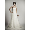One-shoulder-wedding-dress-fit-and-flare-bridal-gown-lace-embellished.square