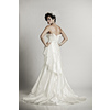 Ivory-delphine-wedding-dress-artistic-mermaid-cinched-waist-vintage-bridal-style-back.square