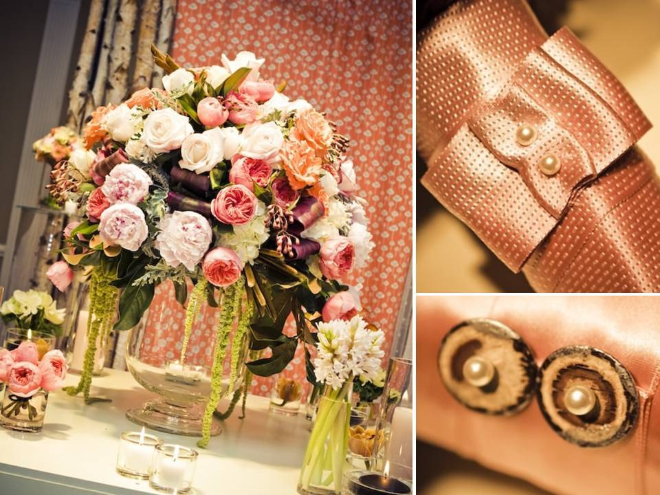 Stunning vintage chic wedding reception centerpieces and for Romantic wedding reception ideas