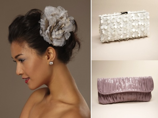 Budget-friendly and chic wedding accessories and clutches from The Limited
