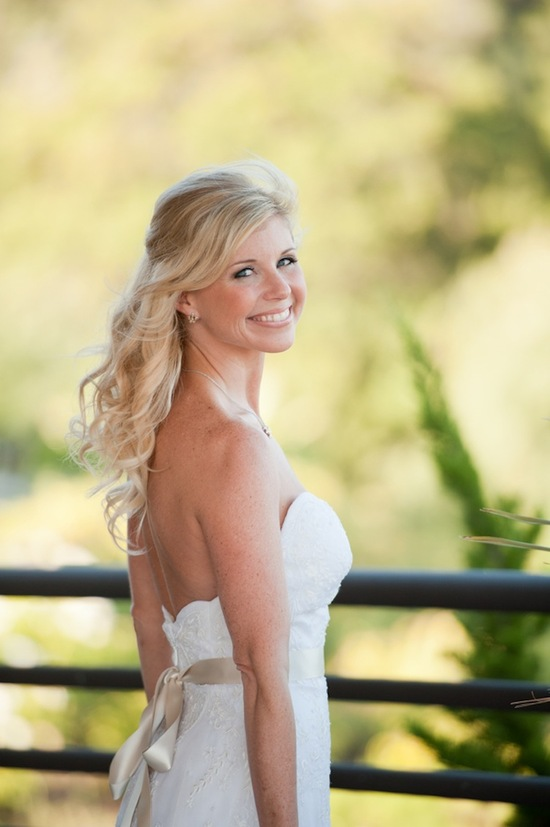 Bridal beauty in California