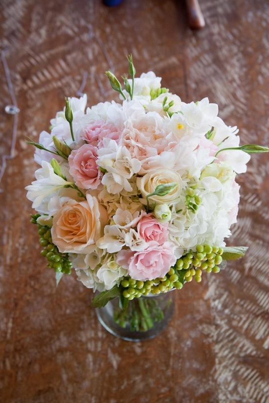 california real wedding bridal bouquet