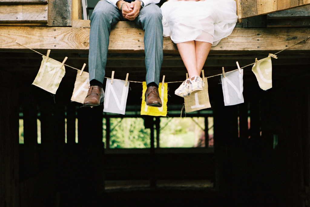 Rustic-chic-outdoor-wedding-tennessee-casual-bride-and-groom-handmade-wedding-sign.full