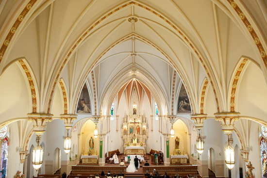Catholic church wedding ceremony venue