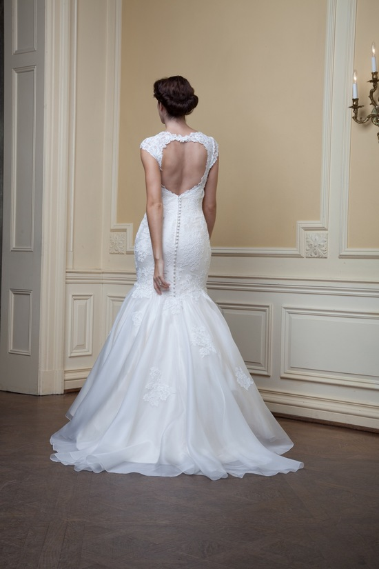 photo of Blanche by Lea Ann Belter Spring 2014 wedding dress
