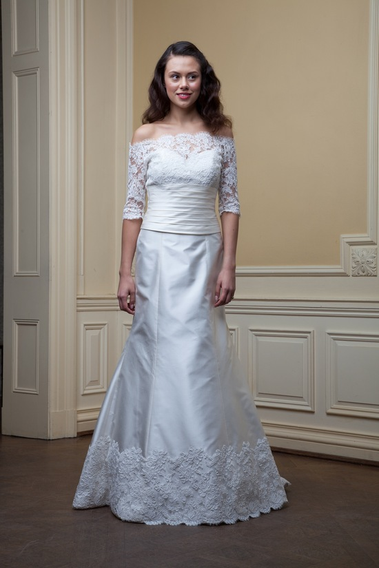 photo of Charlotte by Lea Ann Belter Spring 2014 wedding dress