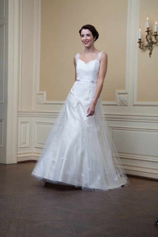 photo of Clara by Lea Ann Belter Spring 2014 wedding dress