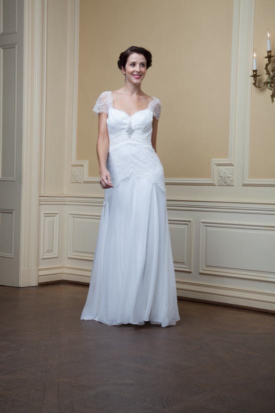 photo of Edith by Lea Ann Belter Spring 2014 wedding dress