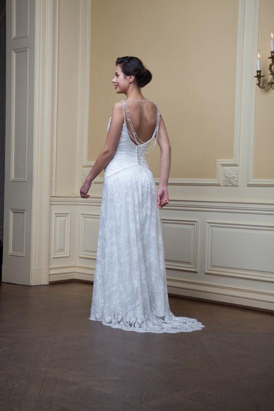 photo of Imogene by Lea Ann Belter Spring 2014 wedding dress