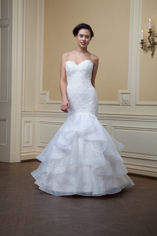 photo of Ruby by Lea Ann Belter Spring 2014 wedding dress