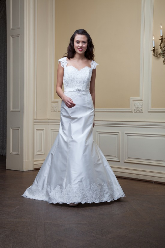 photo of Sybil by Lea Ann Belter Spring 2014 wedding dress