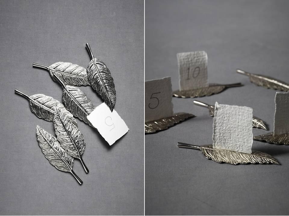 Elegant-silver-wedding-reception-escort-card-holders.full