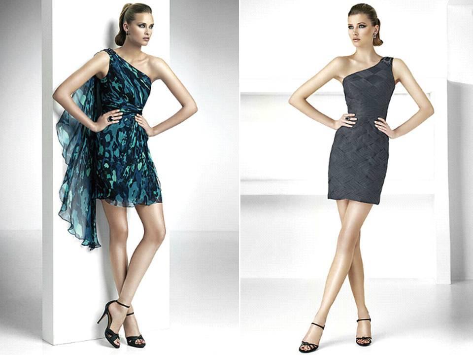 Pronovias-bridesmaids-dresses-one-shoulder-navy-blue-midnight-blue-patterned.full