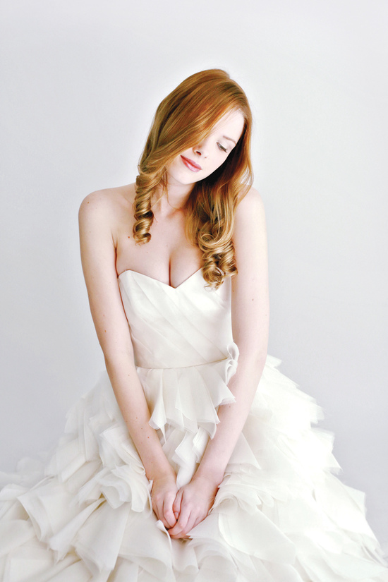 photo of Anna by Leanne Marshall Fall 2014 Bridal Collection