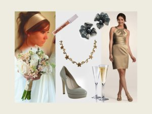 photo of Summer Wedding Ideas by Color Palette: Grey and Beige