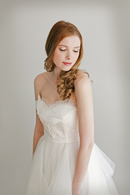 photo of Simone by Leanne Marshall Fall 2014 Bridal Collection