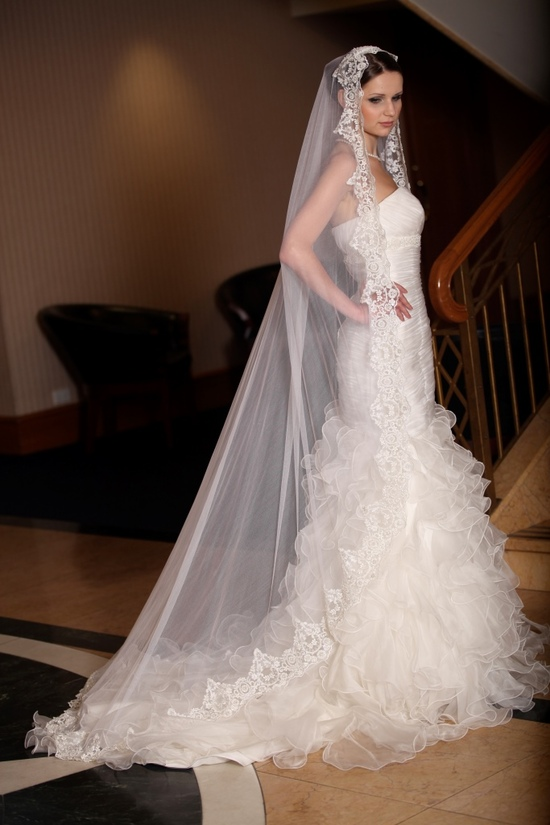 photo of Silk Wedding Veils