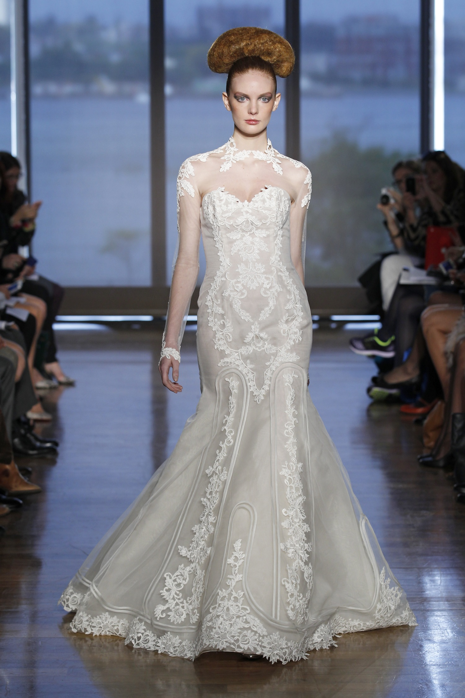 Helene by ines di santo 2014 couture collection for Ines di santo wedding dress