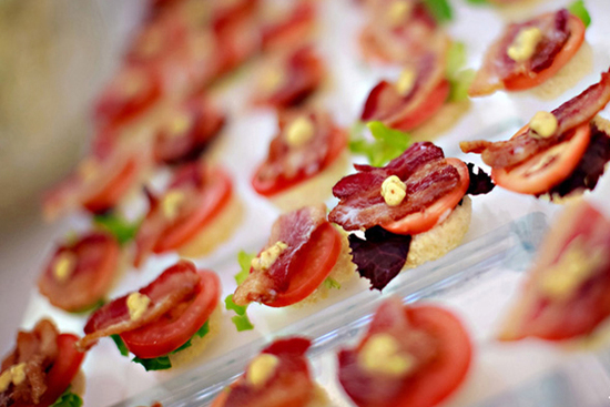 Mini BLTS with Apple Smoked Bacon and Remoulade
