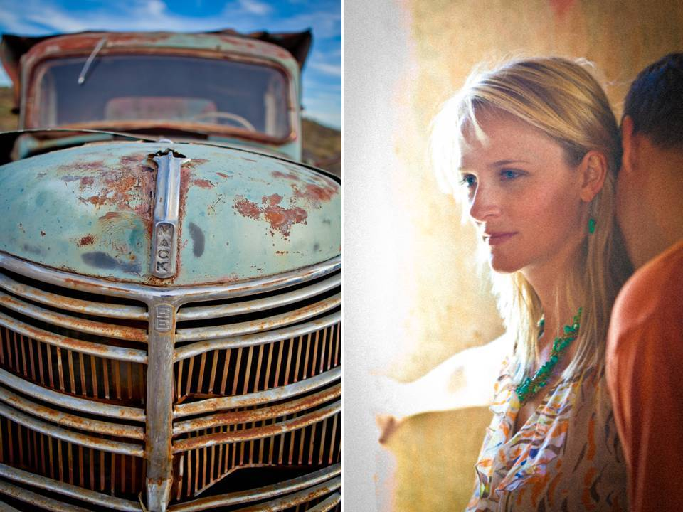 Arizona-engagement-session-vintage-wedding-photography-casual-bride-and-groom.full