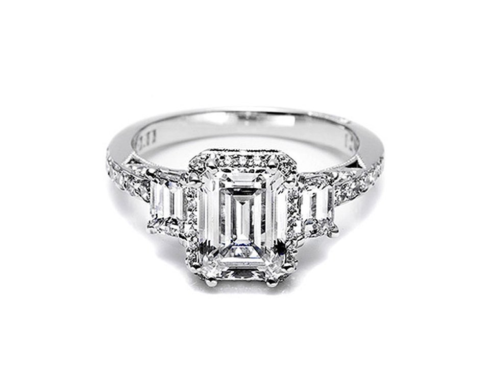 Get Kim Kardashian's engagement ring look for less with Tacori