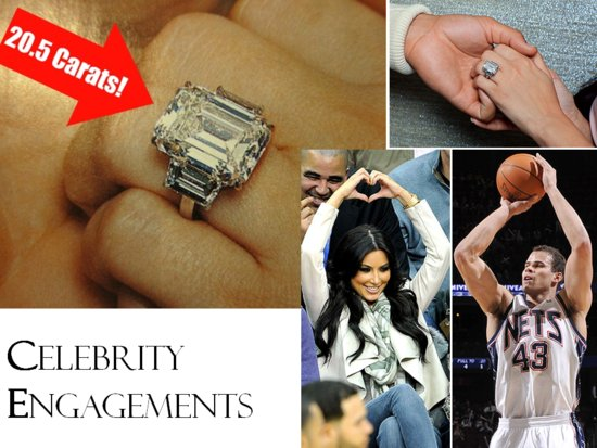 photo of Kim Kardashian Engagement Ring: Get the Look for Less