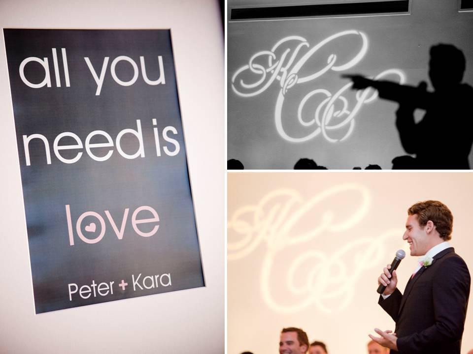 Real-wedding-ideas-personalized-details-custom-monogram-soft-pink-black-wedding-color-palette.full